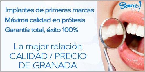 banner calidad implantes dentales en Granada